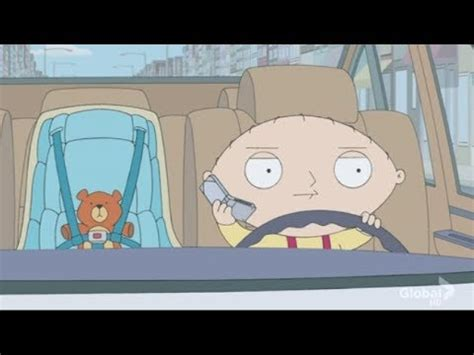 Family Guy - Stewie Drives Brian's Car - YouTube