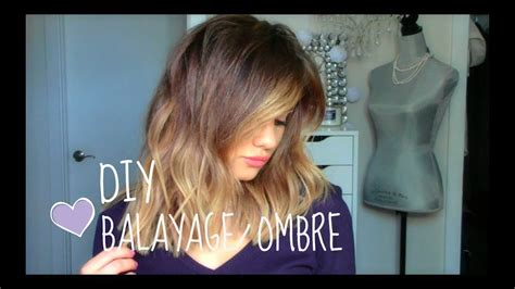 DIY: Balayage or Ombre at Home! - YouTube