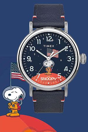 'All Systems Are Go!' with Timex 'Snoopy In Space' watch
