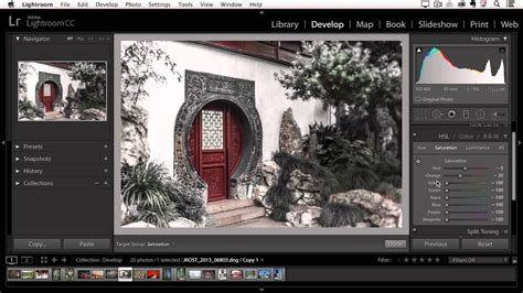 Selective Coloring Effects in Lightroom - YouTube