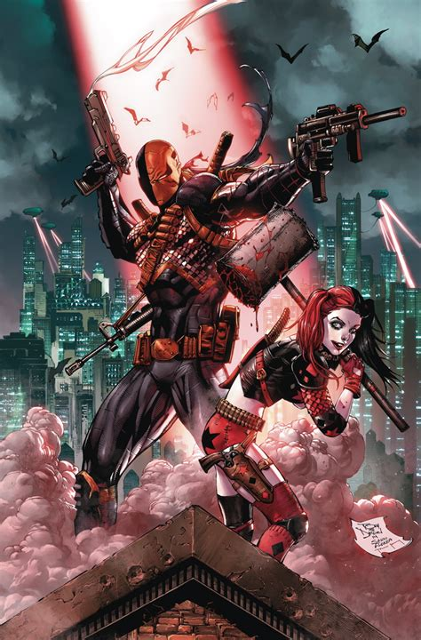 DEATHSTROKE #4 - Comic Art Community GALLERY OF COMIC ART