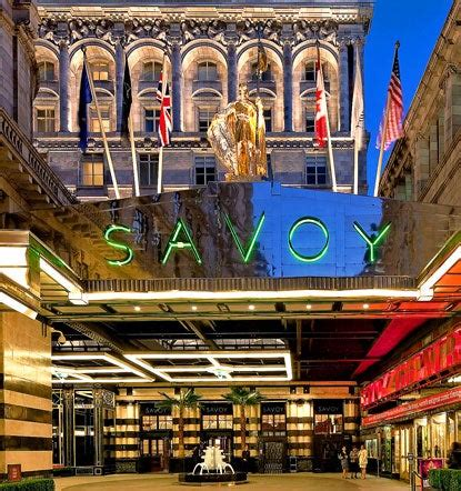 The Savoy is the hotel at the heart of London   London