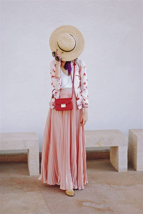 Bomber jacket & maxi skirt: how to transition summer items