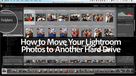 How to Move Your Photos in Lightroom Classic CC to Another